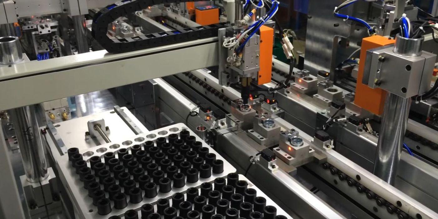 výroba průmyslových strojů a vybavení